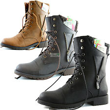 Womens Military Combat Zipper Sweater Ankle Exclusive Credit Card Design Boots