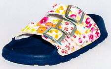 Birki Sandals by Birkenstock for Women Strap Sansibar Magic Flower White
