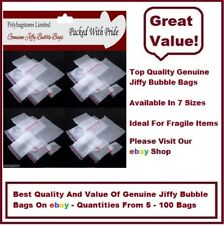 BB5 - 280 x 375 JIFFY BUBBLE WRAP BAGS/POUCHES - SELF SEAL