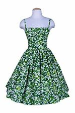 Bernie Dexter Daisy Meadow print Paris dress 50's pinup