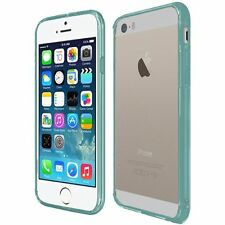 For iPhone SE, iPhone 5s/5 Case Slim Hard Crystal Clear Transparent+Screen