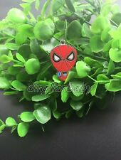 Wholesale Cartoon spider-man Metal Charm Pendants Jewelry Making Party Gift Y-01