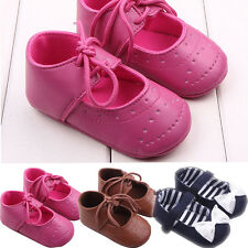 Infant Boy Girl Moccasin Baby Shoes Sneaker Anti-slip Soft Sole Toddler Shoes