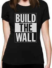Build The Wall Republican Party Election Campaign Women T-Shirt Political