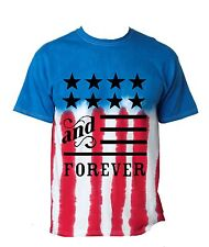 Men's T Shirt USA Flag American Forever 4th Of July Party