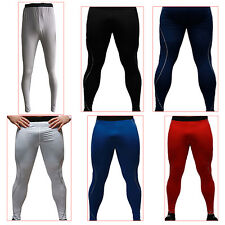 Men Tight Sport Pants Outdoor Leisure Sports Training Fitness Pants Trousers FK