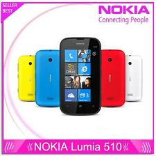 "Original unlocked Nokia Lumia 510 3G GSM 4.0"" WIFI GPS 5MP 4GB Windows Mobile OS"
