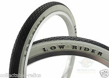 Dragster Low Rider Whitewall Tyre Raised Letter 20X1.75 Bicycle Retro Old School