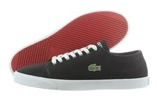 Lacoste Marcel FRS 7-27SPM100602H Black Canvas Casual Shoes Medium (D, M) Men