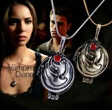 The Vampire Diaries Elena's Vervain Antique Locket Vintage Necklace Pendant New