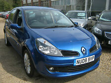 Renault Clio 1.2 TURBO  16v 100 TCE ( a/c ) Dynamique 69K ALLOYS , CD, ELECTRIC
