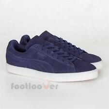 Shoes Puma Suede Classic Colored 360850 01 Man Navy White Special Edition