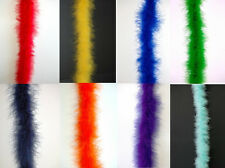 "THIN MARABOU FEATHER BOA Top Quality 15 Gram/72"" MANY COLORS (Halloween/Costume)"