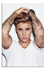 Justin Bieber Hands On Head Poster New - Maxi Size 36 x 24 Inch