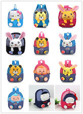 Baby Toddler Kids Child Boy Girl Backpack Cartoon Animal Schoolbag Shoulder Gift