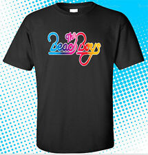 New The Beach Boys Classic Logo Men's Black T-Shirt Size S to 3XL
