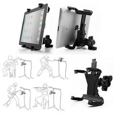 360° Rotation Stage Music Microphone Stand Holder Mount For 7-11 Inch Tablet PC