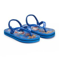 PAW PATROL MARSHALL & CHASE Boys Flip Flops Beach Sandals w/ Optional Sunglasses