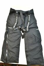 Women's Coldwave Sno Storm SnoStorm Snowmobile Bibs Pants Black Ski Winter Pants
