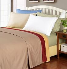 Egyptian Cotton 1000 Thread Count Solid Sheet Set