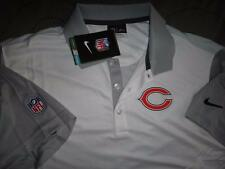 NIKE CHICAGO BEARS NFL FOOTBALL GOLF DRI-FIT POLO SHIRT XXL XL L MEN NWT $70.00