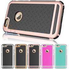 Shockproof Rubber Hybrid Fashion Hard Thin Case Cover for iPhone SE 5 5S 6 6S