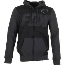 Fox Racing Clutch Mens Hoody Zip - Black All Sizes