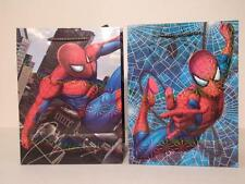 2pc Spiderman Gift Bag Lot Reusable Party Bags Set Goodie Present Tote Spidey