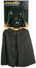 NEW Star Wars Darth Vader Cape and Mask Set Licensed By Lucasfilms By Rubies