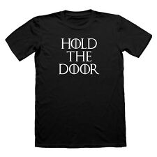 HOLD THE DOOR MENS tshirt t-shirt HODOR T SHIRT GAME OF THRONES TEE  LANISTER