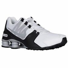 NIKE SHOX AVENUE WHITE GREY BLACK MENS RUNNING SHOES **FREE POST AUSTRALIA