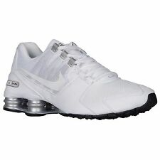 NIKE SHOX AVENUE WHITE SILVER 2016 MENS RUNNING SHOES **FREE POST AUSTRALIA