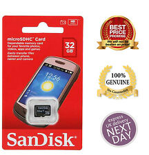 100% Authentic Sandisk 8GB 16GB 32GB SDHC Class 4 Micro SD Memory Card
