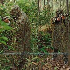 3D Military Hunting Leaf Ghillie Suit Woodland Jungle Sniper Camouflage Clothes