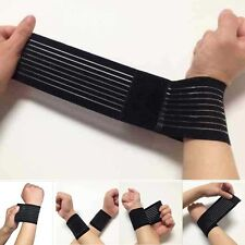 Elastic Wrist Brace Palm Wrap Guard Support Protector Sports Gloves Gym NEW