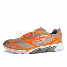 Skechers Go Run 4 Nite Owl Series [53850ORGY] Running Orange/Grey