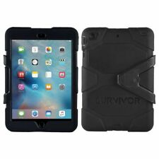 Griffin Survivor Heavy Duty Cover Tough Case iPad Mini 2 3 4 iPad Air, Air 2