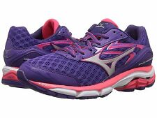 MIZUNO WAVE INSPIRE 12 PURPLE SILVER PINK WOMENS D WIDE SHOES **FREE POST AUST