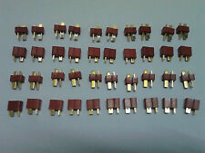 Ultra T-Plug Male Female Connectors fit Deans Style RC Lipo Battery 5-1000 Pairs