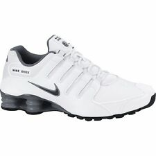 NIKE SHOX NZ 2015 WHITE GREY MENS RUNNING SHOES **FREE POST AUSTRALIA