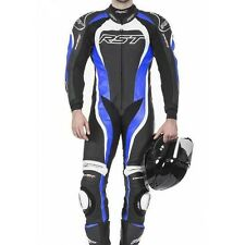 RST TRACTECH EVO 2 ONE PIECE MOTORCYCLE RACE LEATHERS BLUE 1415