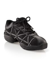 Black and Grey capezio web jazz dance sneakers/trainers