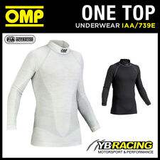 IAA/739E OMP ONE TOP NEW LONG SLEEVE TOP FIA APPROVED FIREPROOF ULTRA-LIGHT OMP