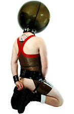 Latex Inflatable Ball Hood / Rubber Mask By Dvote