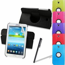 New PU Leather Case Cover Stand For Samsung Galaxy Tab3 P3200 P3210 7-inch