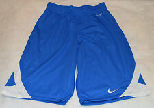 NIKE DRI FIT ALLEY HOOP BASKETBALL SHORTS BLUE SMALL BOYS AGE 8/10 YEARS NEW
