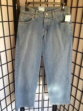 Lee Premium 14 Regular Select Loose Straight Leg Adjustable Waist Jeans NWT