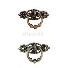 Chinese Retro Single Hole Pull Kitchen Furniture Cabinet Vintage Ring Decor