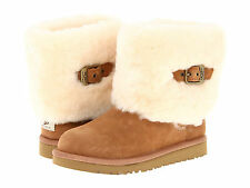 NEW KIDS UGG AUSTRALIA BOOT ELLEE CHESTNUT 1001672 K ORIGINAL