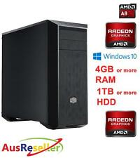 NEW AMD Quad Core A8 7650K 3.3GHz 4GB RAM 1TB HDD Budget Desktop PC X146240